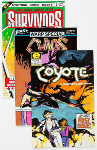 Comic Books - Assorted Modern Age Indie Comics Box Lot (Various Publishers, 1980s) Condition: Average VF