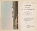 Books:Americana & American History, Edwin James. Account of the Expedition From Pittsburgh to theRocky Mountains. London: 1823. First English editi... (Total: 3Items)