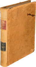 Books:Literature Pre-1900, Mark Twain. The Adventures of Huckleberry Finn. New York: Charles L. Webster and Company, 1885. First U. S. edition,...