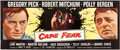 "Movie Posters:Thriller, Cape Fear (Universal International, 1962). 24 Sheet (104"" X 232"")....."