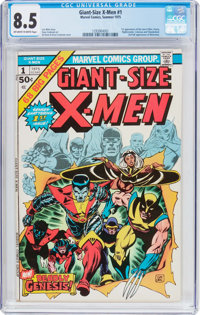 Giant-Size X-Men #1 (Marvel, 1975) CGC VF+ 8.5 Off-white to white pages