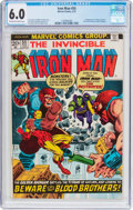 Bronze Age (1970-1979):Superhero, Iron Man #55 (Marvel, 1973) CGC FN 6.0 Off-white to white pages....