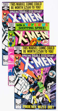Modern Age (1980-Present):Superhero, X-Men #137 and 138 Group (Marvel, 1980) Condition: AverageVF/NM.... (Total: 4 Comic Books)