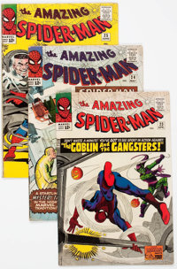 The Amazing Spider-Man Group of 57 (Marvel, 1965-76) Condition: Average VG.... (Total: 57 Comic Books)