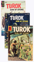 Bronze Age (1970-1979):Superhero, Turok, Son of Stone Group of 11 (Dell/Gold Key, 1962-72) Condition:Average VG.... (Total: 11 Comic Books)