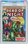 Bronze Age (1970-1979):Horror, Dead of Night #4 (Marvel, 1974) CGC NM/MT 9.8 Off-white to whitepages....