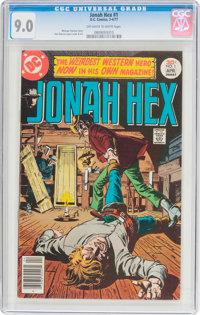 Jonah Hex #1 (DC, 1977) CGC VF/NM 9.0 Off-white to white pages