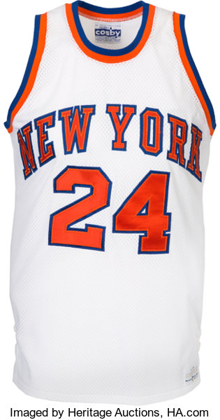 80ec9b58f1c1 1976-77 Bill Bradley Game Worn New York Knicks Jersey