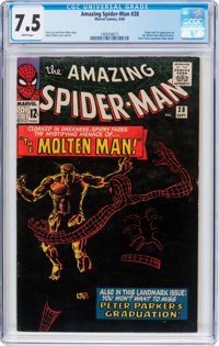 The Amazing Spider-Man #28 (Marvel, 1965) CGC VF- 7.5 White pages