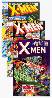 X-Men Group of 17 (Marvel, 1967-81) Condition: Average VF.... (Total: 17 Comic Books)