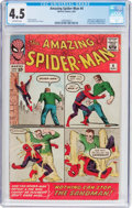Silver Age (1956-1969):Superhero, The Amazing Spider-Man #4 (Marvel, 1963) CGC VG+ 4.5 Off-white pages....