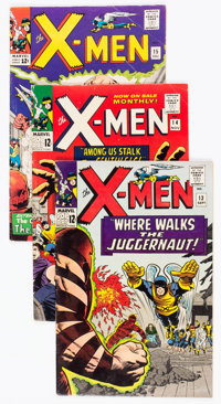 X-Men Group of 26 (Marvel, 1965-70) Condition: Average VG.... (Total: 26 Comic Books)