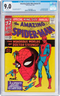 Silver Age (1956-1969):Superhero, The Amazing Spider-Man Annual #2 (Marvel, 1965) CGC VF/NM 9.0 White pages....