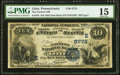 National Bank Notes:Pennsylvania, Lititz, PA - $10 1882 Date Back Fr. 545 The Farmers NB Ch. #(E)5773. ...