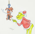 Animation Art:Production Drawing, Virgil Ross - Grinch and Max Drawing (MGM, c. 1990s). ...