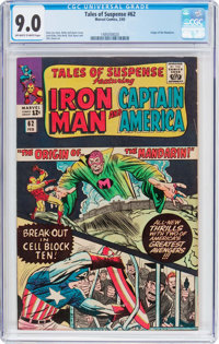 Tales of Suspense #62 (Marvel, 1965) CGC VF/NM 9.0 Off-white to white pages