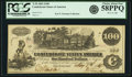 Confederate Notes:1862 Issues, Confederate States of America - T39 $100 1862 PF-1, Cr. 289. PCGSChoice About New 58PPQ.. ...