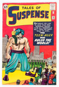 Silver Age (1956-1969):Science Fiction, Tales of Suspense #38 (Marvel, 1963) Condition: FN/VF....