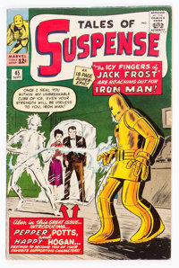 Tales of Suspense #45 (Marvel, 1963) Condition: FN+