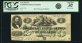Confederate Notes:1862 Issues, Confederate States of America - T43 $2 1862 PF-1, Cr. 338. PCGSVery Fine 30 Apparent.. ...