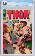Silver Age (1956-1969):Superhero, Thor #126 (Marvel, 1966) CGC VF/NM 9.0 Off-white to white pages....