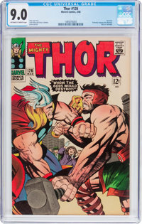 Thor #126 (Marvel, 1966) CGC VF/NM 9.0 Off-white to white pages