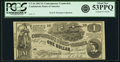 Confederate Notes:1862 Issues, Confederate States of America - CT44 $1 1862 CT44/339. PCG...