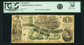 Confederate Notes:1862 Issues, Confederate States of America - T45 $1 1862 PF-2, Cr. 342. PCGSVery Fine 30 Apparent.. ...