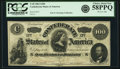 Confederate Notes:1862 Issues, Confederate States of America - T49 $100 1862 PF-2, Cr. 348. PCGSChoice About New 58PPQ.. ...