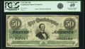 Confederate Notes:1862 Issues, Confederate States of America - T50 $50 1862 PF-13, Cr. 360. PCGSExtremely Fine 40 Apparent.. ...