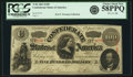 Confederate Notes:1863 Issues, Confederate States of America - T56 $100 1863 PF-1, Cr. 403. PCGSChoice About New 58PPQ.. ...