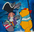Animation Art:Production Cel, The New Adventures of Winnie the Pooh Production Cel Setup(Disney, 1988).... (Total: 3 )