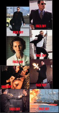 """Face/Off (Paramount, 1997). Lobby Card Set of 8 (11"""" X 14""""). Action. ... (Total: 8 Items)"""