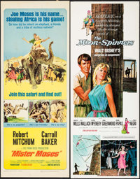 """Mister Moses & Others Lot (United Artists, 1965). Inserts (4) (14"""" X 36""""). Adventure. ... (Total: 4 Items)"""