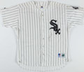 Baseball Collectibles:Uniforms, Frank Thomas Signed Chicago White Sox. ...