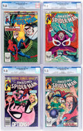 Modern Age (1980-Present):Superhero, The Amazing Spider-Man Group of 4 (Marvel, 1983-84) Condition: CGCNM/MT 9.8.... (Total: 4 Comic Books)