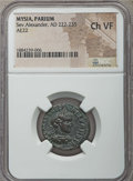 Ancients:Roman Provincial , Ancients: MYSIA. Parium. Severus Alexander (AD 222-235). AE 22 mm.NGC Choice VF....