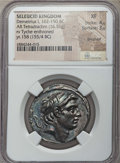 Ancients:Greek, Ancients: SELEUCID KINGDOM. Demetrius I Soter (162-150 BC). ARtetradrachm (16.51 gm). NGC XF 4/5 - 3/5, brushed....