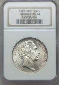 German States:Bavaria, German States: Bavaria. Maximilian I 2 Gulden 1855 MS63 NGC,...