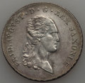 German States:Saxony, German States: Saxony. Friedrich August I Taler 1816-IGS XF - Cleaned,...