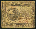 Continental Currency July 22, 1776 $6 Very Good-Fine