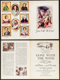 """Movie Posters:Academy Award Winners, Gone with the Wind (MGM, 1939). Southern Edition Program (MultiplePages, 9"""" X 12""""). Academy Award Winners.. ..."""