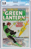 Silver Age (1956-1969):Superhero, Showcase #22 Green Lantern (DC, 1959) CGC GD/VG 3.0 Off-whitepages....