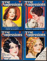 True Confessions (Fawcett Publications, 1931). Magazines (4) (Multiple Pages). Miscellaneous. ... (Total: 4 Items)