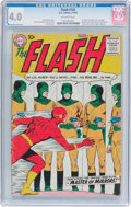 Silver Age (1956-1969):Superhero, The Flash #105 (DC, 1959) CGC VG 4.0 Off-white pages....