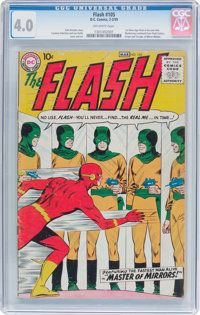 The Flash #105 (DC, 1959) CGC VG 4.0 Off-white pages