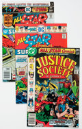 Bronze Age (1970-1979):Superhero, All Star Comics Group of 8 (DC, 1976-77) Condition: Average VF+.... (Total: 8 Comic Books)