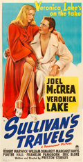 "Movie Posters:Comedy, Sullivan's Travels (Paramount, 1941). Three Sheet (41"" X 81"").. ..."