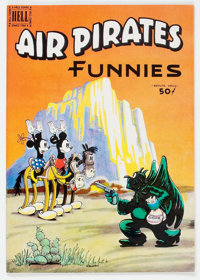 Air Pirates Funnies #2 (Hell Comics Group, 1971) Condition: NM-