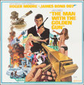"Movie Posters:James Bond, The Man with the Golden Gun (United Artists, 1974). Six Sheet (77""X 78""). James Bond.. ..."